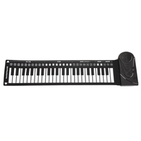 Music Roll Up Piano Portable Multi Style With Speaker Flexible Folding Children Gift Electronic Keyboard 49 Keys Toys Silicone