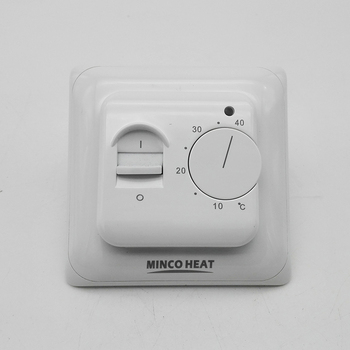Electric Floor Heating Room Thermostat Manual Warm Floor Cable Use Termostat 220V 16A Temperature Controller Instrument (1PC) 2