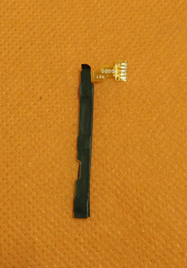 Used Original Power On Off Button Volume Key Flex Cable FPC for HOMTOM HT17 Pro 5.5 inch 1280x720 HD MT6737 Quad Core Free Ship