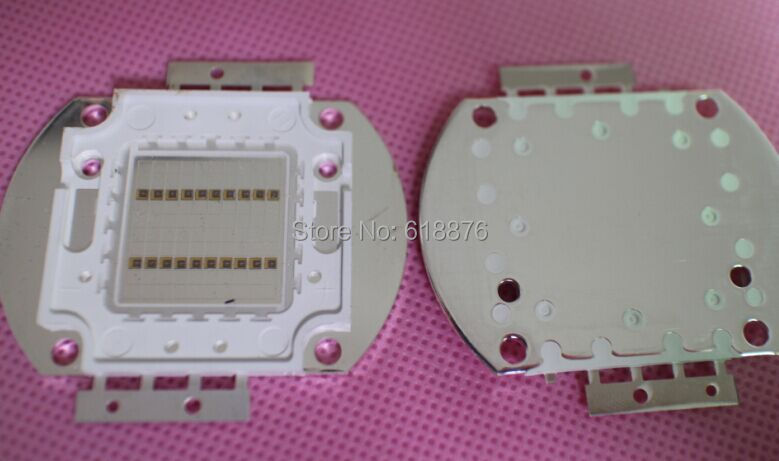 Freeshipping! 20W Infrared IR 850nm High Power Multichip Intergrated LED Emitter Lamp Light 10 in Serial 2 in Parallel