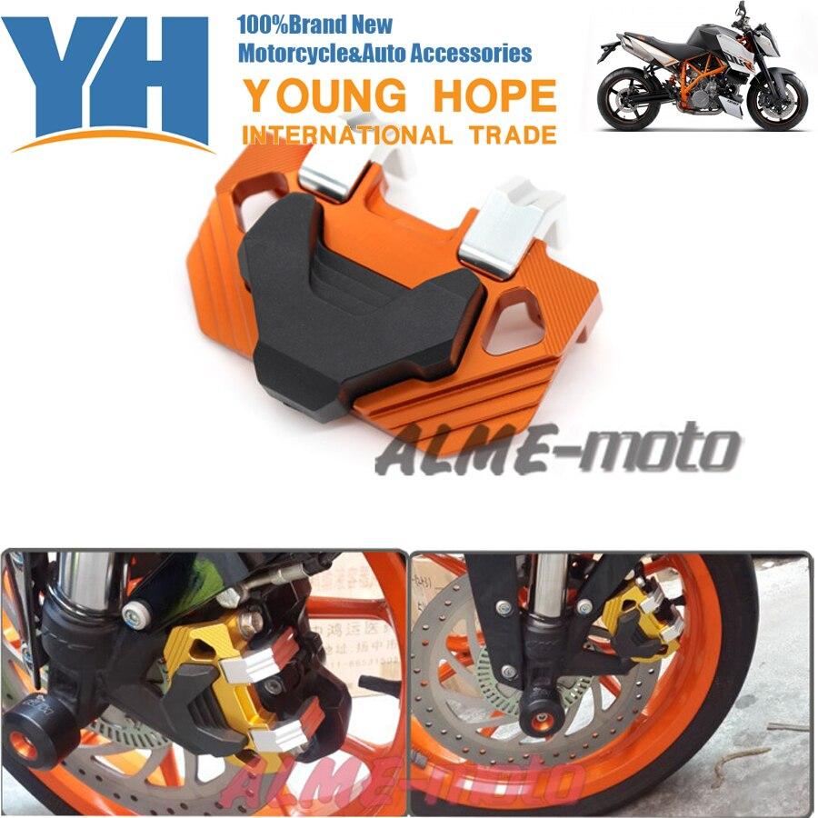 Принадлежности для мотоциклов передняя тормозной суппорт Защитная Крышка для 200/390 КТМ РЦ Дюк 2012-2014