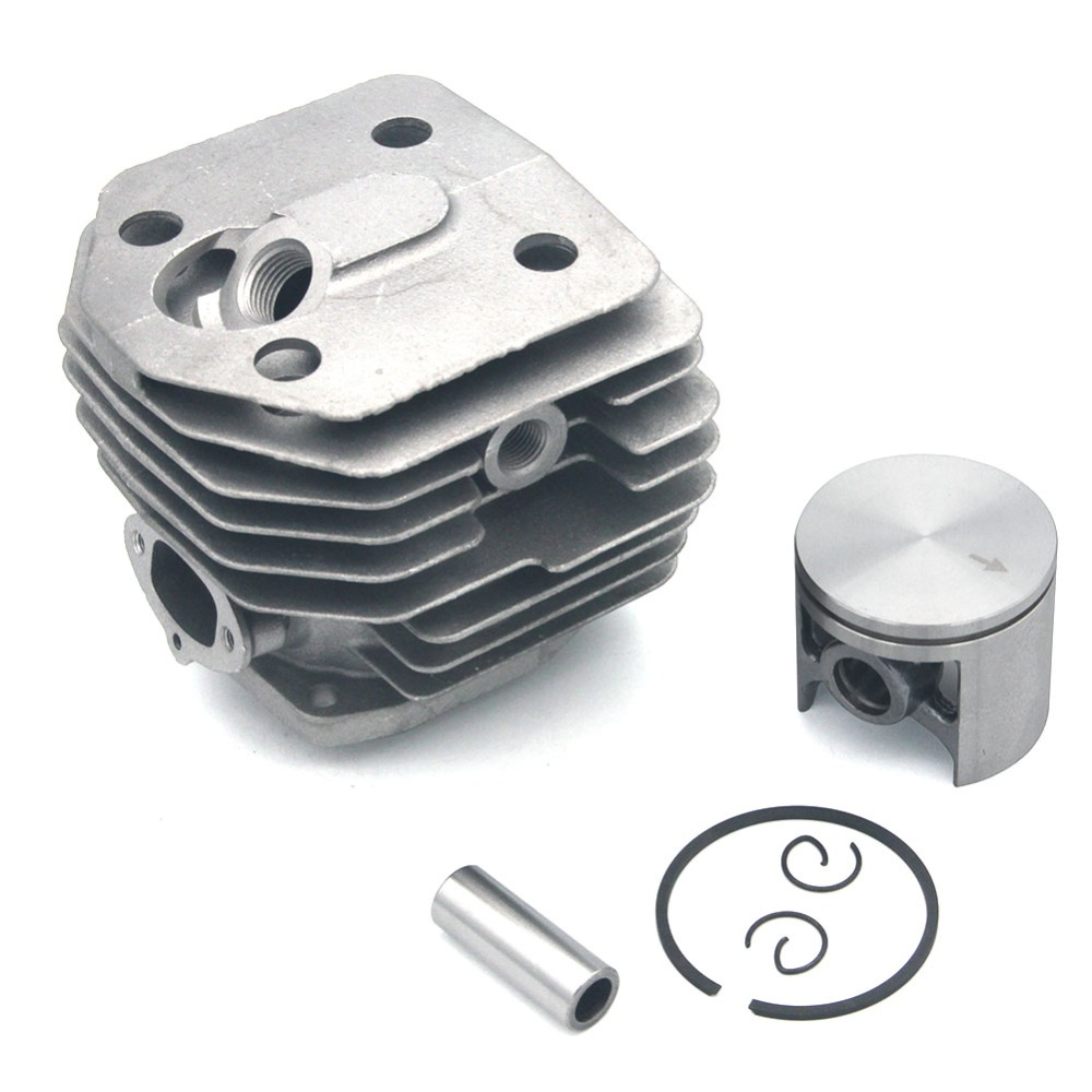 Cylinder Piston Kit 45mm  Husqvarn Chainsaw 154 154XP 254 254XP 238 Jonsered 2054 2055 PN 503503903 503586772 503503902