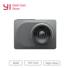 YI Smart Videocamera per auto WiFi Dash Registratore del DVR Con Visione Vision165 Gradi ADAS Dash Cam 1080 P 60fps Videocamera per auto Registrator