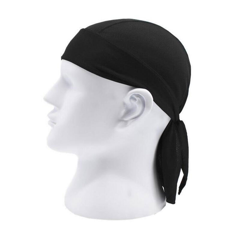 Men Women Cycling Pirate Cap Outdoor Sport Bandanas Pure Color Motor Cycle Head Scarf Ciclismo Hiking Running Headscarf Headwear