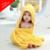 Bebé de algodón con capucha towel animal niños toallas para bebes con capucha niños del bebé con capucha toallas de baño para niños para bebés 60a054