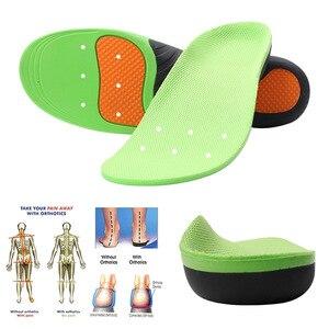 Image 4 - Wkładki do butów ortopedycznych podeszwy wkładki płaskostopie sklepienie łukowe stopa Vargus Valgus korektor wkładka do butów wkładka Inlegzolen Eva