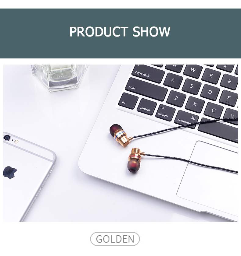 Tomkas In-ear Wired Earphone For Mobile Phone Earphones 5 Colors 3.5mm In Ear Sport Micro Earphone For iPhone Xiaomi With Case (38)