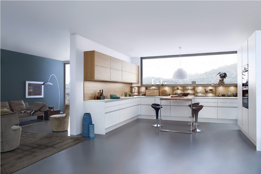 Contemporary Kitchen Cabinet online get cheap colored kitchen cabinets -aliexpress