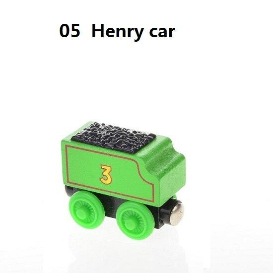 Деревянные магнитные паровозики, игрушки для железной дороги, деревянные паровозики для детей, подарок для детей, модель поезда - Цвет: Сливовый