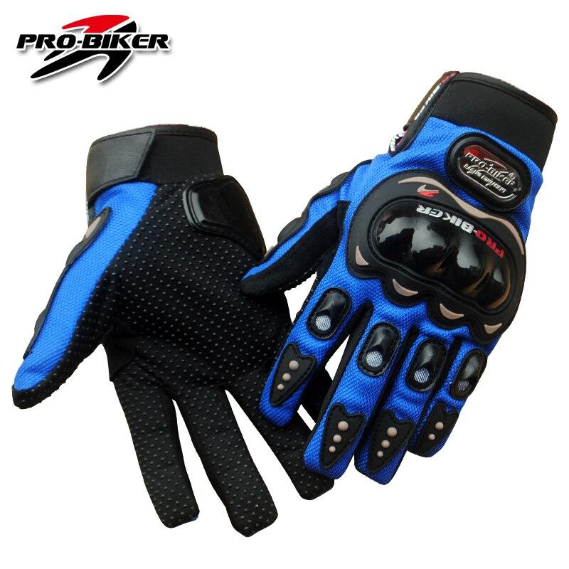 PRO-BIKER Motorcycle Gloves Full Finger Motorcross Dirt Racing Offroad ATV Riding Scooter Guantes Motocicleta Moto Glove MCS01C