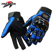 PRO-BIKER Motorcycle Gloves Full Finger Motorcross Dirt Racing Offroad ATV Riding Scooter Guantes Motocicleta Moto Glove MCS01C(China)