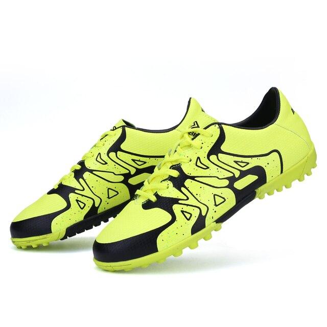 Adultos botas de fútbol mixto color de uñas Rotas zapatos de Fútbol ...