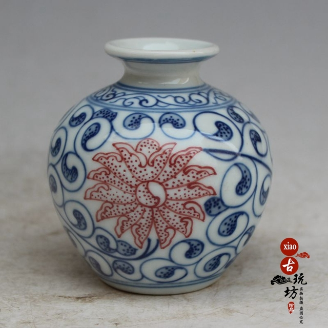 Jingdezhen Porcelain Flower Blue And White Porcelain Flower Blue And