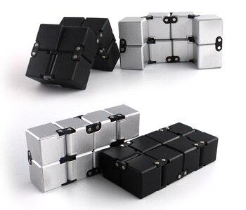 Infinite decompression cube compression toy finger cube infinite cube toy infinite space