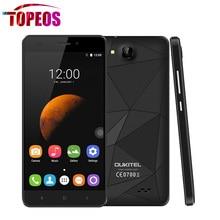 OUKITEL C3 5.0 pouce Android 6.0 3G WCDMA Smartphone RAM 1 GB ROM 8 GB MTK6580 Quad Core 1.3 GHz Téléphone portable GPSDual SIM WIFI