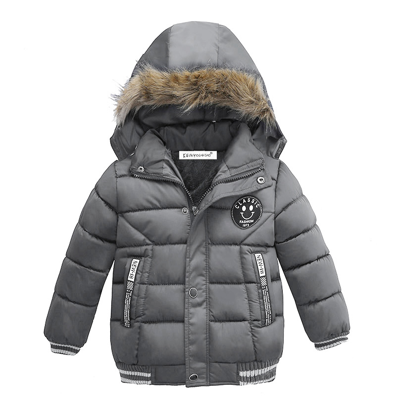 Boys Jacket For Boys 2018 Hot Winter Thick Hooded Cotton-padded Baby Boys Coat Kids Jacket Children Outerwear Coat Warm Jackets 2018 winter children boys parka jacket kids thicken warm 90% cotton camouflage hooded coat baby boys girls casual outerwear