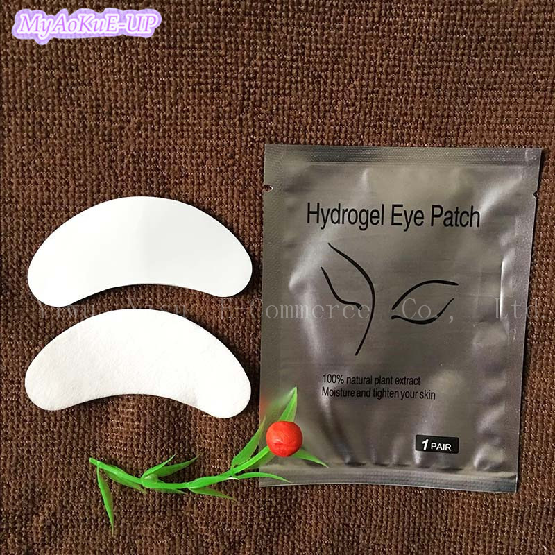 1000 pairs lot Eyelashes Hydrogel Eye Patches Under Stickers Eyelash Extension Eye Lash Paper Patches Lint