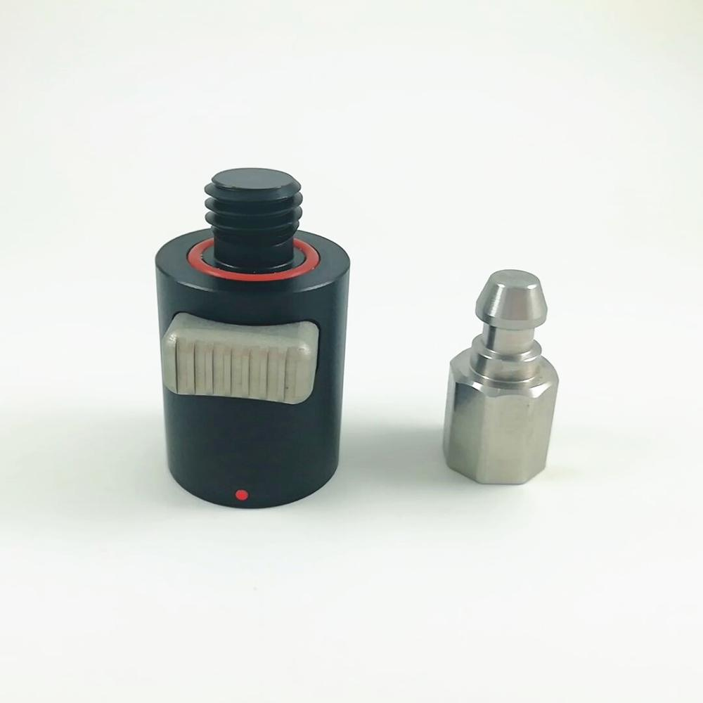 NOVO GPS RTK Adaptadores de Liberação Rápida Para GPS Pólos Pólos prisma Leica Topcon sokkia Trimble GPS