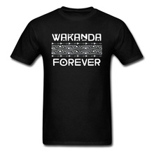 Wakanda Forever 2019 New Fashion Europe T-shirts O Neck Ahegao Red Dead Redemption 2 Tops Shirts for Men T Shirts NEW YEAR DAY стоимость