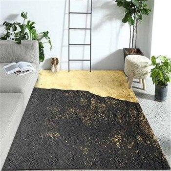 שטח גדול רצפת שטיחים לבית סלון חדר שינה מפואר קצף שטיח Footmat מחקר רצפת מחצלת משרד כיסא אזור שטיח