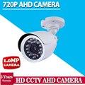 НОВЫЙ Продукт 1MP 1280*720 P Мини CCTV AHD Камеры 2000TVL Открытый Водонепроницаемый Пуля ИК Ночного Видения Безопасности Видео Surveillance kit