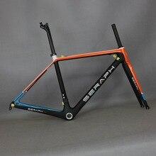 Betifuly краска супер светильник дороги углерода велосипеда BSA/BB30 углеродный руль для велосипеда рамка SERAPHBIKE T1000 для велосипедной рамы