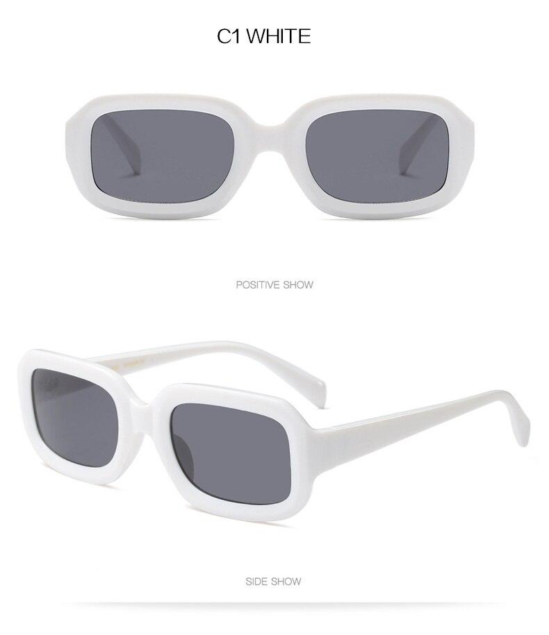 UVLAIK Retangular Retro Óculos De Sol Dos Homens Óculos de Sol Das ... e7be8e04a9