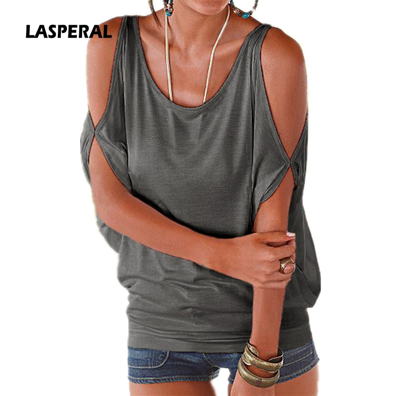 Lasperal summer t shirts 2017 fashion short sleeve top for Best t shirts for summer