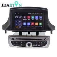 Jdaston 1 DIN Android 5.1.1 dvd-плеер автомобиля для Renault Megane III Fluence 3 г Wi-Fi GPS навигации Bluetooth Радио мультимедиа RDS