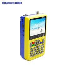 Freesat V8 Satellite Finder For Satellite TV Receiver 1080 HDMI Output Portable Multi-function Satellite Meter For DVBS/DVBS2