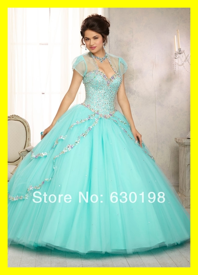 Best Prom Dresses Light Blue Quinceanera Dama Dress Built In Bra