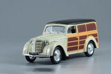 Hoge imitationRussian Moskvich 400 420A auto, 1:43 schaal legering model auto, Statische model, metaal gieten, gratis verzending
