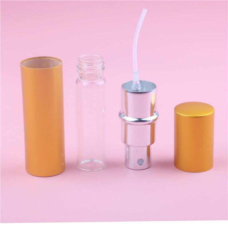 10 ML 7 Renkler Mini Taşınabilir Alüminyum Doldurulabilir Parfüm - Cilt Bakımı Aracı - Fotoğraf 3