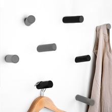 Concrete hooks silicone mold cement cylindrical coat hooks