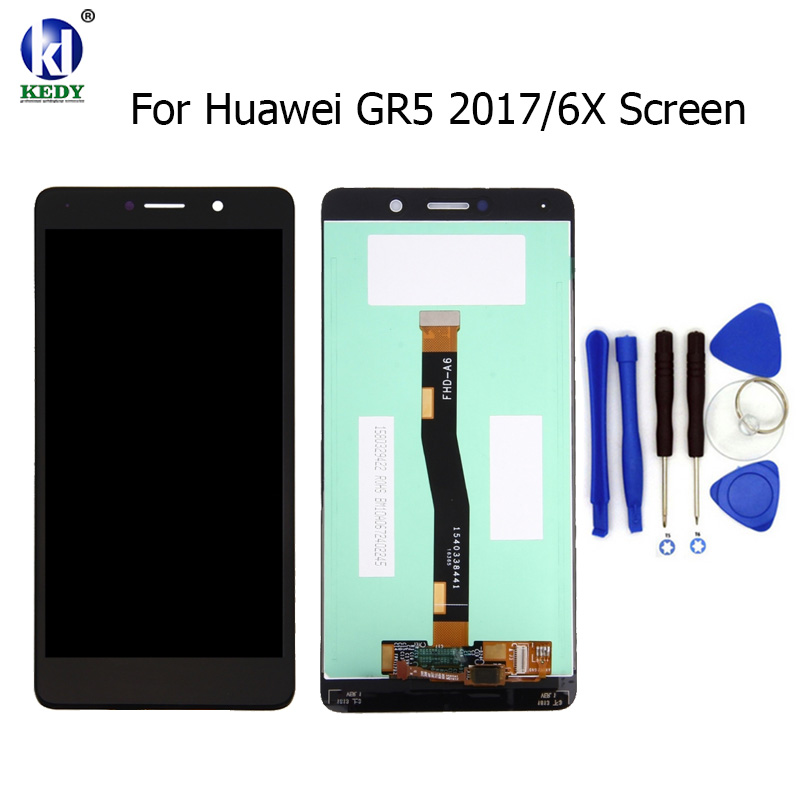Black White 5 5 inch For Huawei GR5 2017 MATE 9 LITE BLL L23 LCD Display