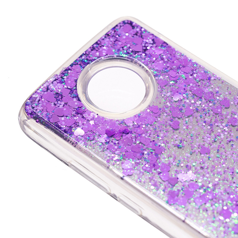 for Motorola E4 Plus Case Back Cover Mirro Capa for Moto E4 Plus Luxury Coque Funda Glitter Quicksand