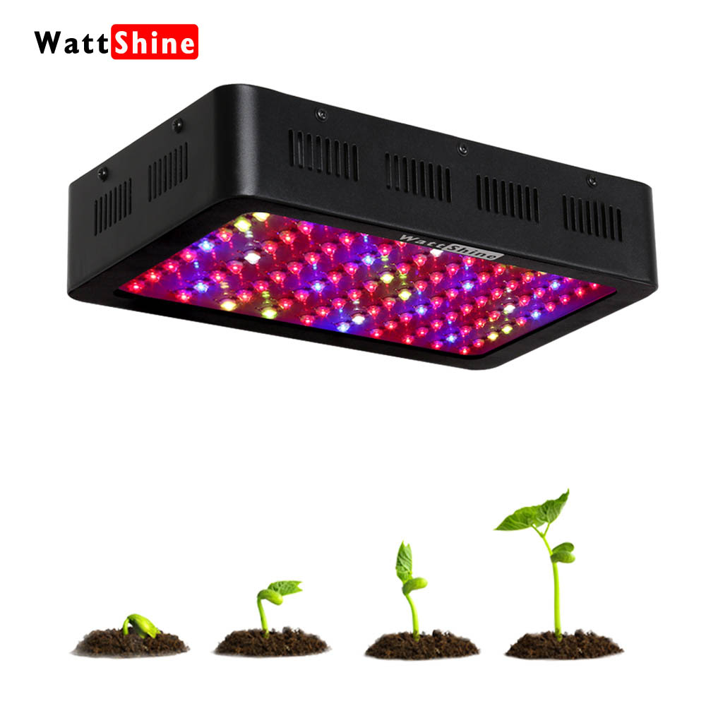 300W led grow lights White Black Low noise Full spectrum Long lifespan Plant fast growing Flower Herbs Global Standard voltage