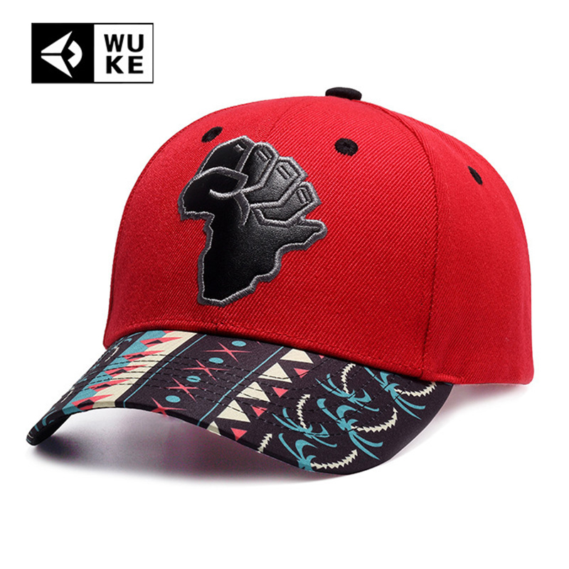 Fashion Street Baseball Cap Polyester Embroidery Red Hat Bone Gorras Beisbol Casual Strapback 2018 For Men Women Map Of Africa aetrue winter beanie men knit hat skullies beanies winter hats for men women caps warm baggy gorras bonnet fashion cap hat 2017