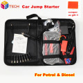 High power Car Jump Starter safety Jump Starter Portable Dual USB Charge Auto emergency power Car Booster