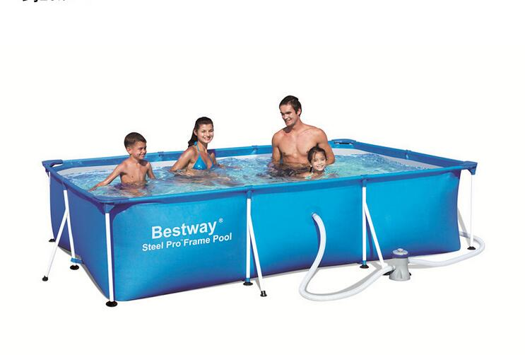BESTWAY56078 network folder bracket pool for children swimming pool for adults 300 * 201 * 66 with pump