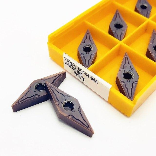 Ferramenta de carboneto vnmg160408 ma alta qualidade ferramentas de corte de metal externo cnc ferramenta de fresagem vnmg160404 ferramentas indexáveis