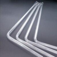 90 Barrow PMMA / PETG Hard Tube ( OD12mm / OD14mm / OD16mm ) + 2mm Thickness + 90 Degrees Bending Tube Transparent 4pcs/Lots (2)