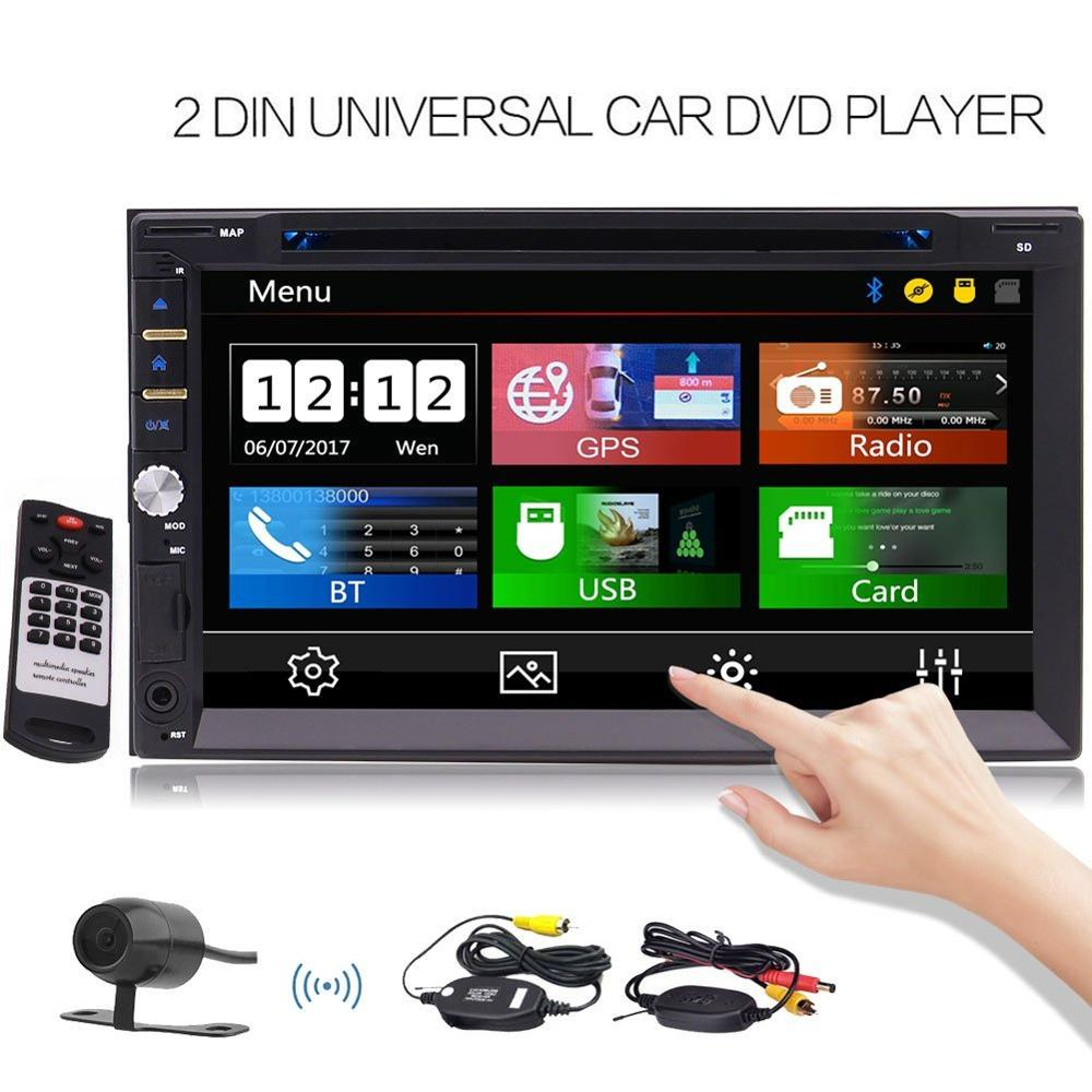 Eincar Free font b Wireless b font Rear Camera Include Car Stereo 2 Din 7 Inch