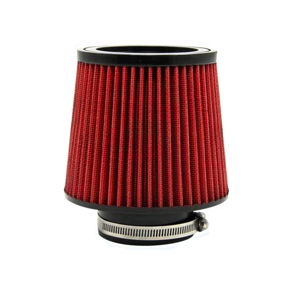 3 Inch 76MM Car Air Filter Air Intake Filter Height High Flow Cone Cold Air Intake Performance Automotive Filters Modification