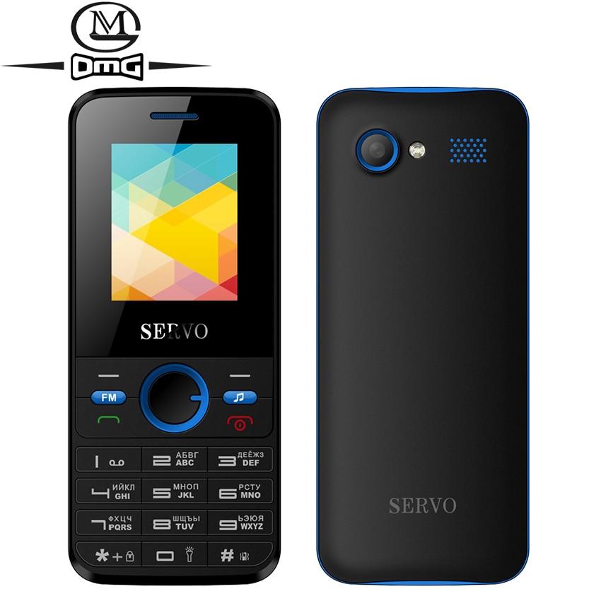 Russian keyboard mini mobie phone 1 77 Dual SIM Card Original Phone SERVO V8240 GPRS Vibration