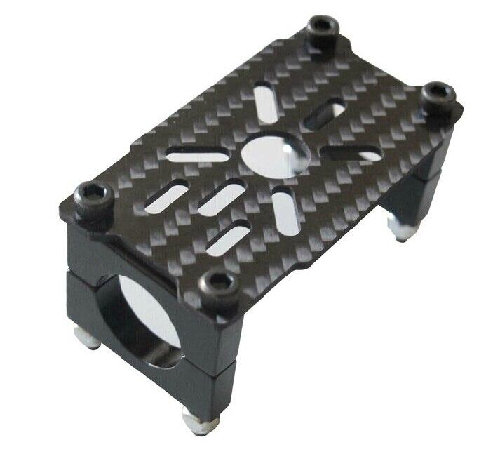 3k Carbon Fiber 2212 5208 Motor Mount Holder W 16mm Tube