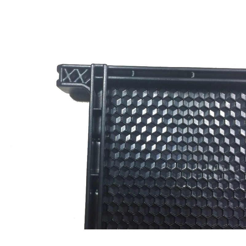 10 шт. инструменты для пчеловодства черный пчелиный улей рамка пластиковый гребень улей меда Рамка Оборудование для пчеловодства инструменты для пчеловодства