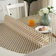 Table mat pvc soft glass mat Frosted waterproof Plastic tablecloth Anti-hot table cloth Europe Plaid stripes table cover pad europe luxury party tablecloth non slip waterproof table cloth oil proof pvc soft glass plastic table cover coffee table mat