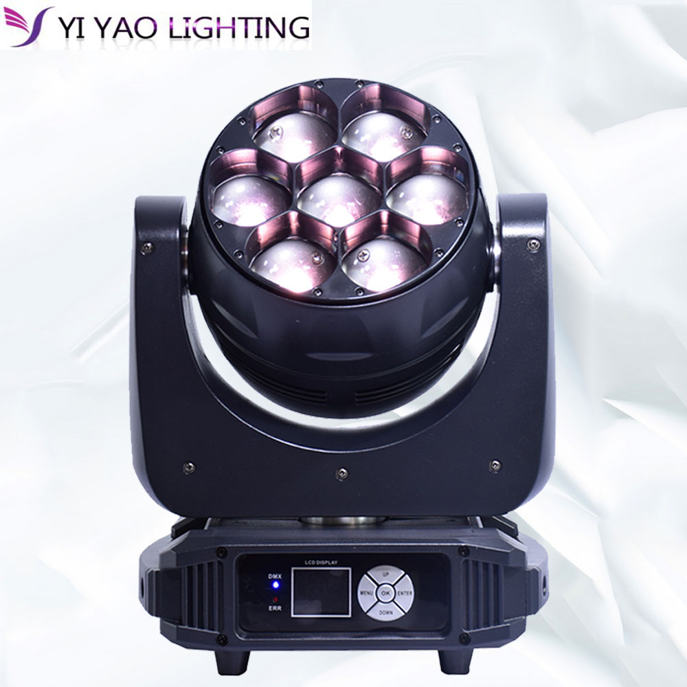 7x40w led moving head light zoom RGBW 4in1 dmx wash beam high brightness for dj party stage lighting 7x40w led moving head light zoom RGBW 4in1 dmx wash beam high brightness for dj party stage lighting