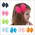 Bows Swallowtail Butterfly Hair Clips Kids Nylon Barrettes Cute Hairpins Headwear for Baby Girls Hair Accessories Ornament